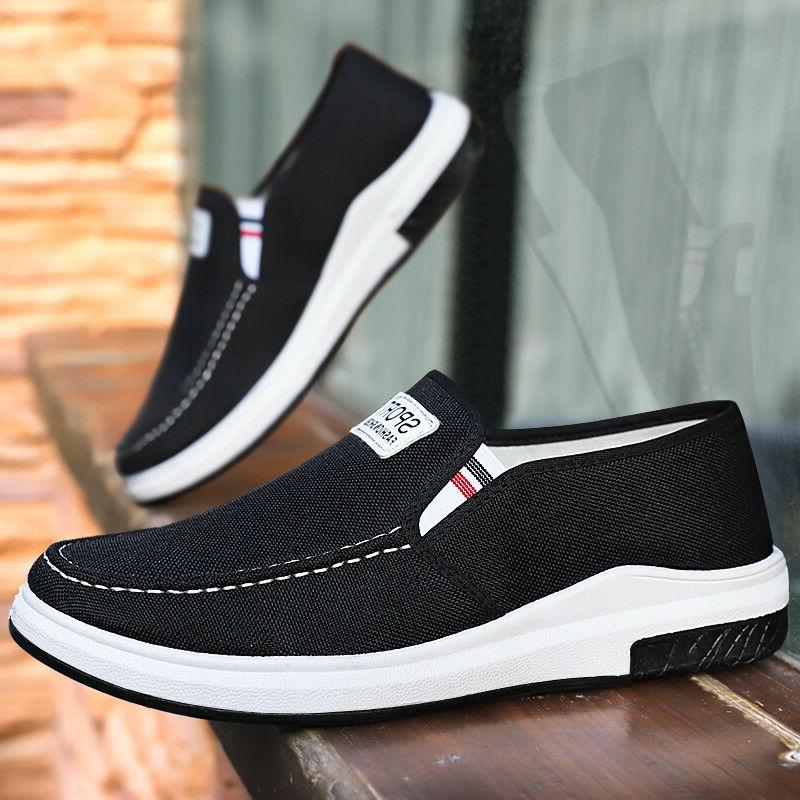men s casual canvas breathable shgoes sneakers