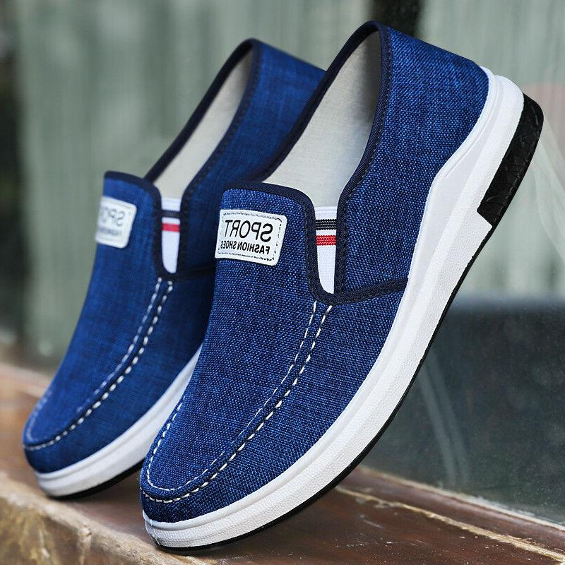 Men's Casual Breathable Shgoes Slip on US