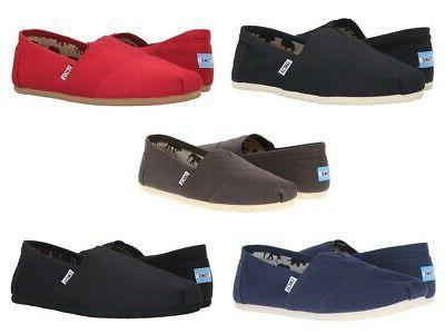 men s classic canvas slip on shoes