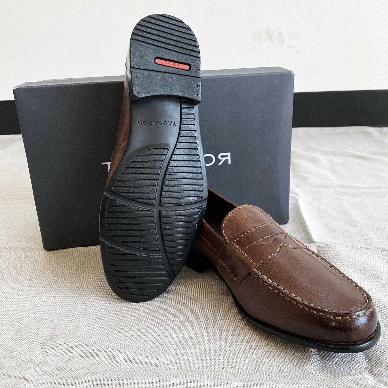 Rockport Classic Penny Dark Brown with