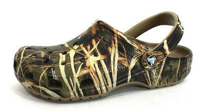 Crocs Classic Realtree Khaki Fabric loafers-shoes