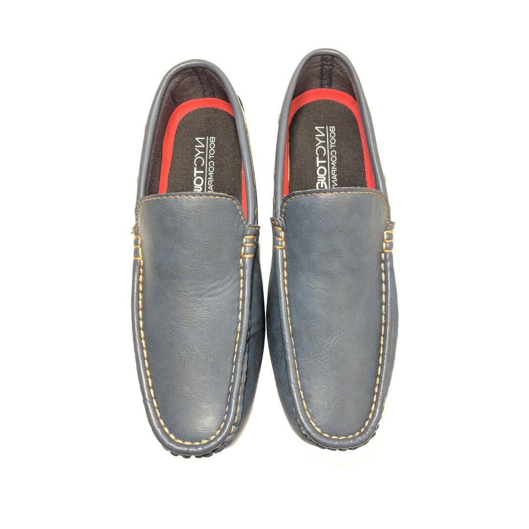 Men's Casual Moccasins Leather Leather