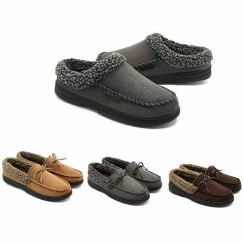 Men's Warm Driving Fur Lined Shoes