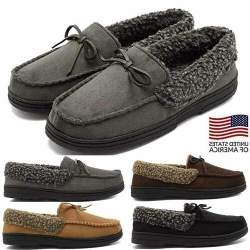 men s indoor cotton slippers warm thicken