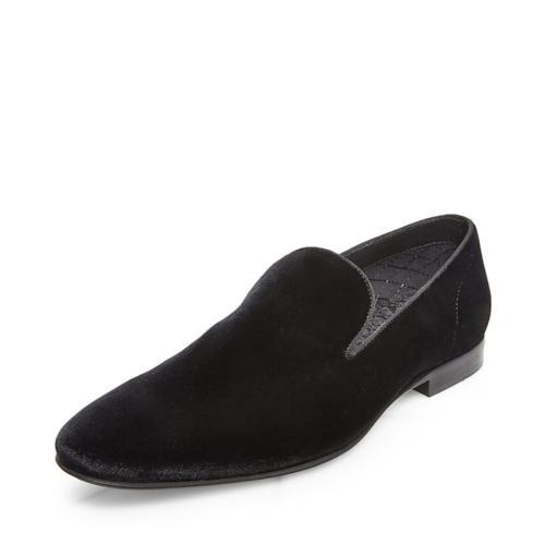 men s laight slip on loafer black