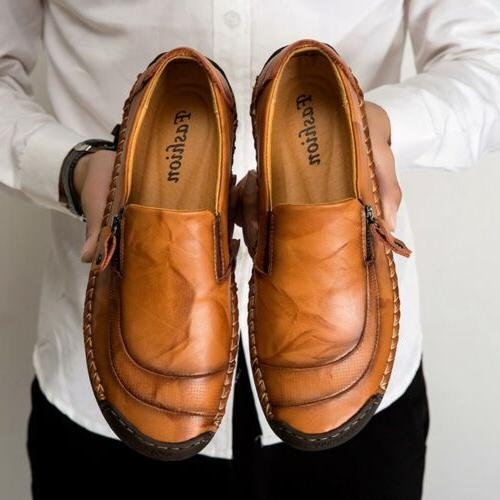 Men's Leather Loafers dress Breathable