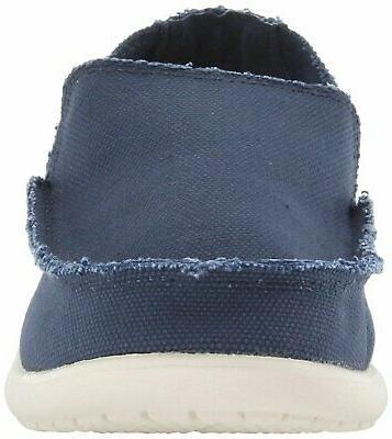 Crocs Men's Santa Cruz Canvas Linen Slip Loafer