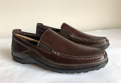 Men's Venetian Casual Loafers Brown - $145 | sz