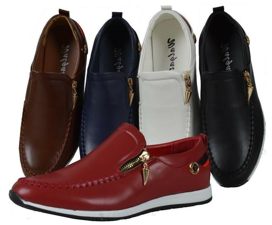 men slip on shoe dress casual loafer