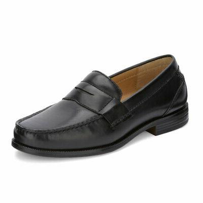 mens colleague business dress penny slip on