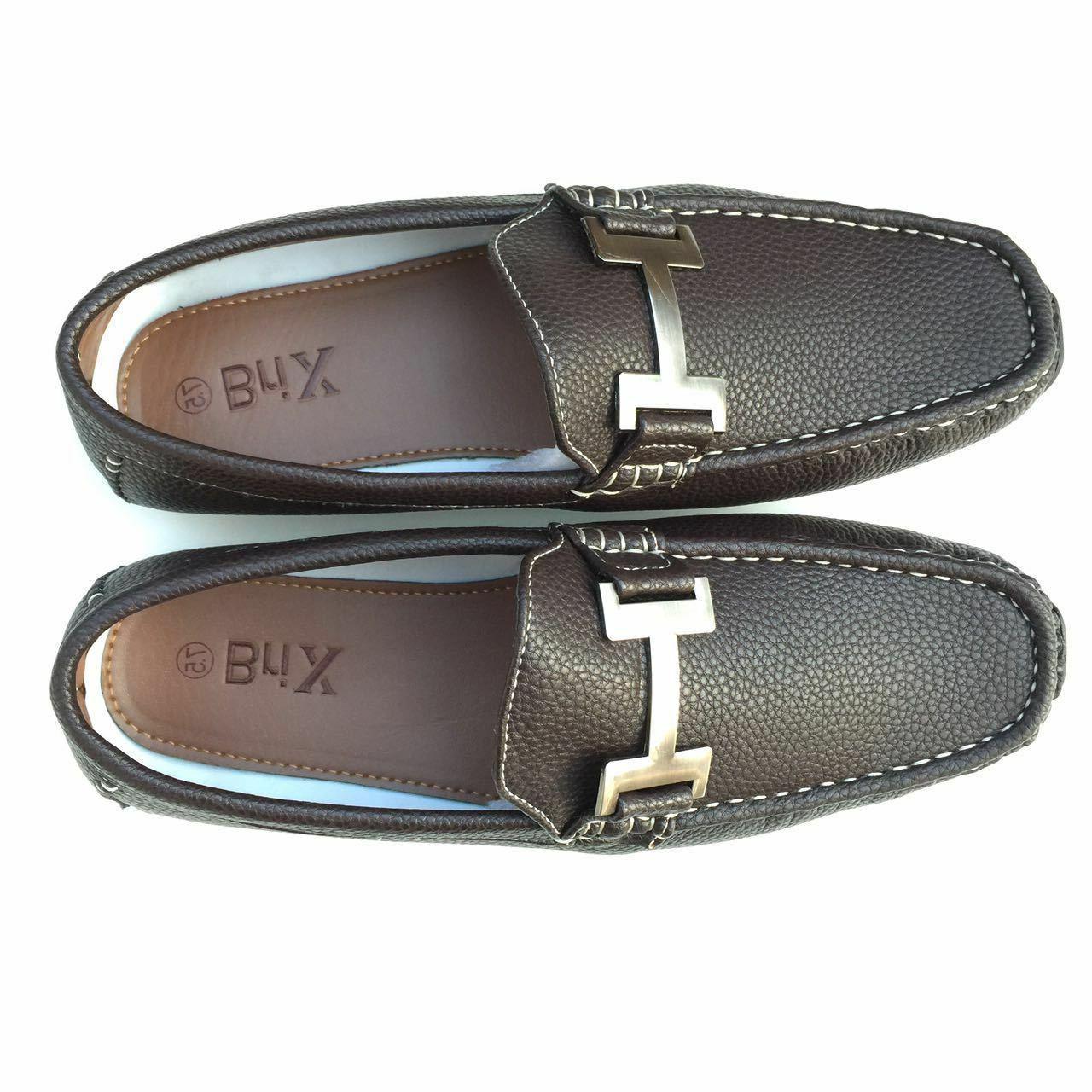 Mens Moccasins Slip Size;