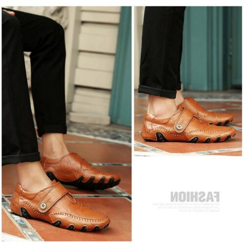 Men's Leather Shoes on Loafers