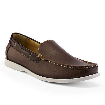 mens loafers boat slip on driving moccasins