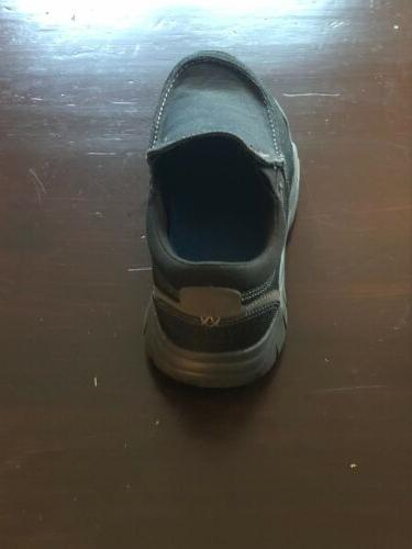 Crocs Mens Loafers 9 Gray Worn.