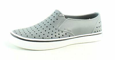 mens miles gray loafers size 9 337659