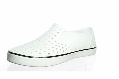 mens miles white loafers size 8 1437521
