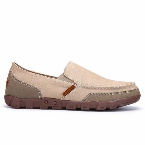Men's Breathable Sneakers Driving Slip on