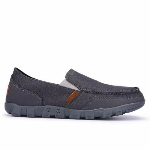 Men's Breathable Driving Loafers Slip on