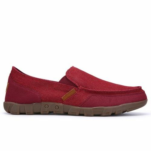 Men's Minimalism Breathable Driving Slip on Shoes