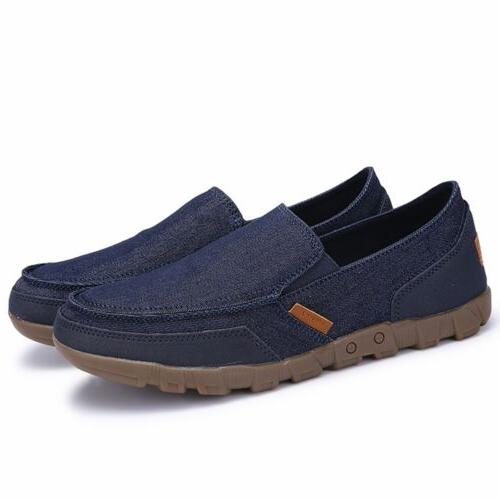 Men's Loafers Breathable Flats Driving Boat