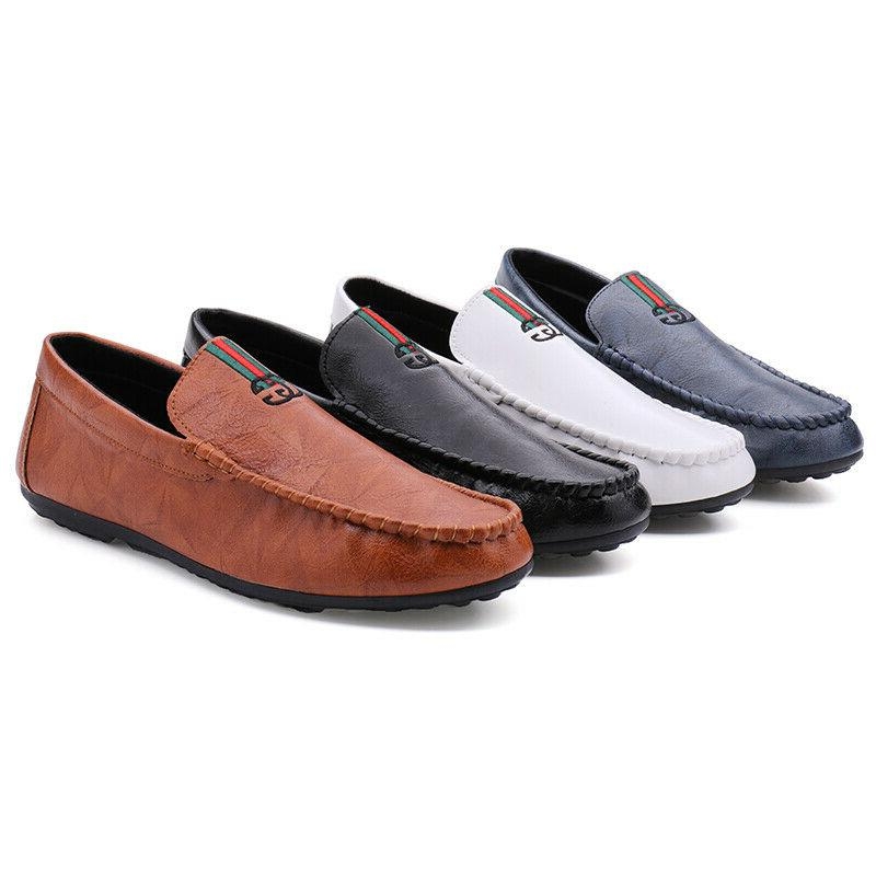 Fashion Peas Driving Shoes Casual Business Leather Sandals