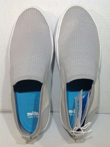 Native Miles Gray Slip Casual Loafers Shoes