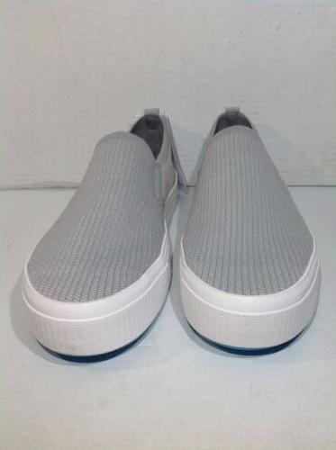 Miles Gray Slip On Shoes