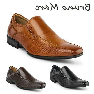 mens slip on casual loafers business dress
