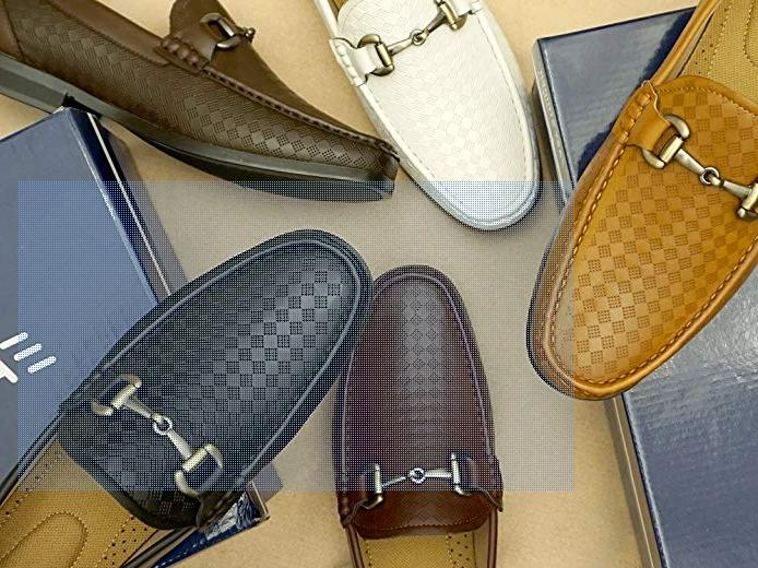 Men's On Loafer Shoes Premium Material Leather Lined
