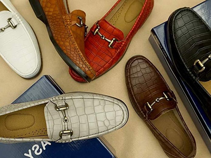 mens slip on loafer shoes premium design