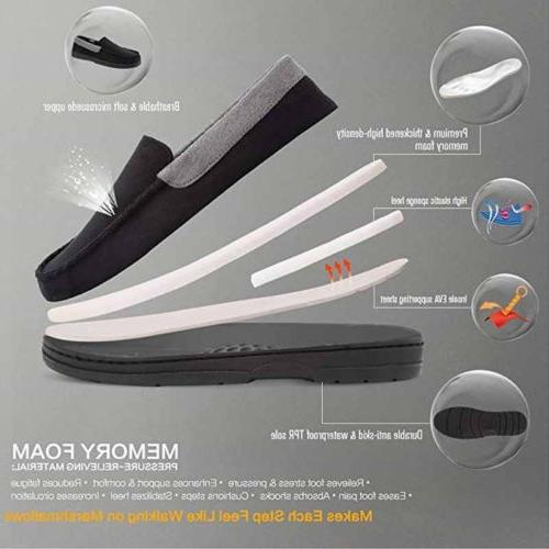 Mens Driving Slip Shoes slip Indoor Slippers