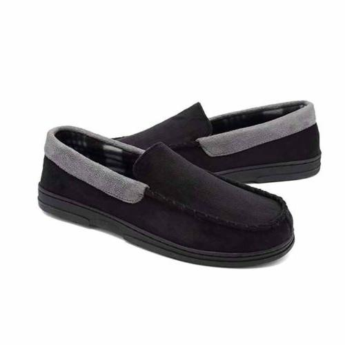 Mens Suede Driving Slip On Casual Shoes No Indoor Slippers