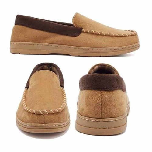 Mens Suede Loafers Slip On Shoes slip Slippers