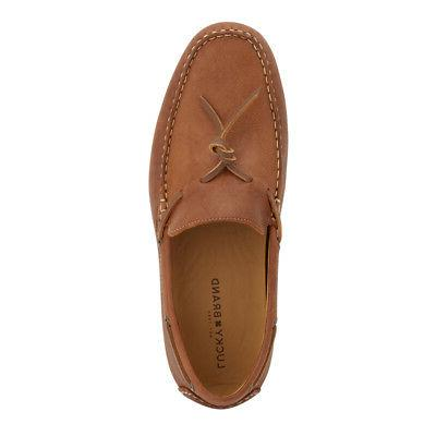Lucky Genuine Leather Slip-on Rubber Sole Driver