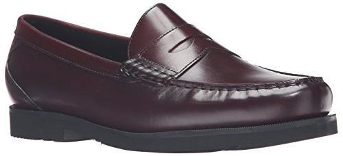 modern prep penny loafer burgundy