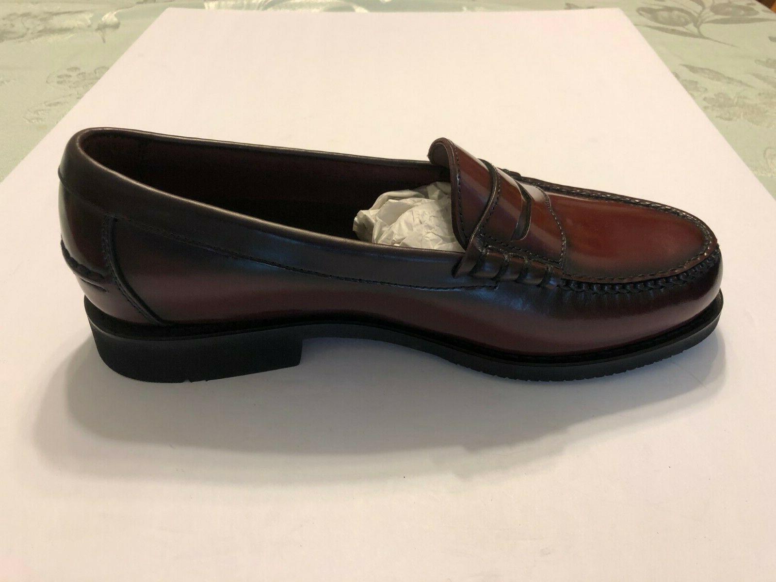 Rockport Men's Burgundy Comfort Leather Loafer