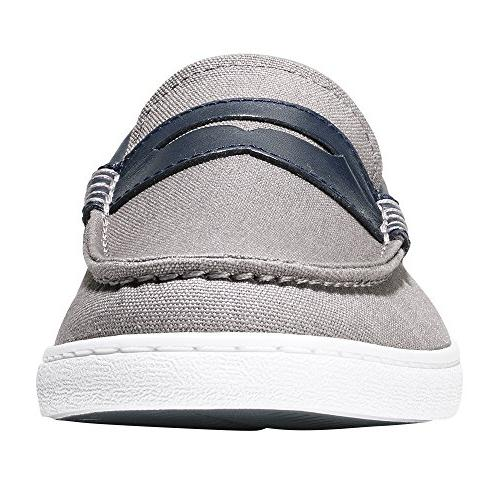 Cole Haan Nantucket Loafer Gray Leather, M US