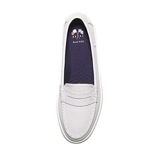 Cole Womens Nantucket Loafer Chalk-Ivory