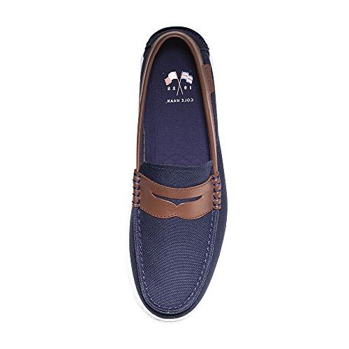 Cole Haan Men's Nantucket Textile/Chestnut M US