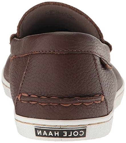 Cole Men's Nantucket Loafer British tan Leather, Medium