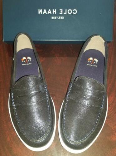 nantucket loafer ii womens midnight blue size
