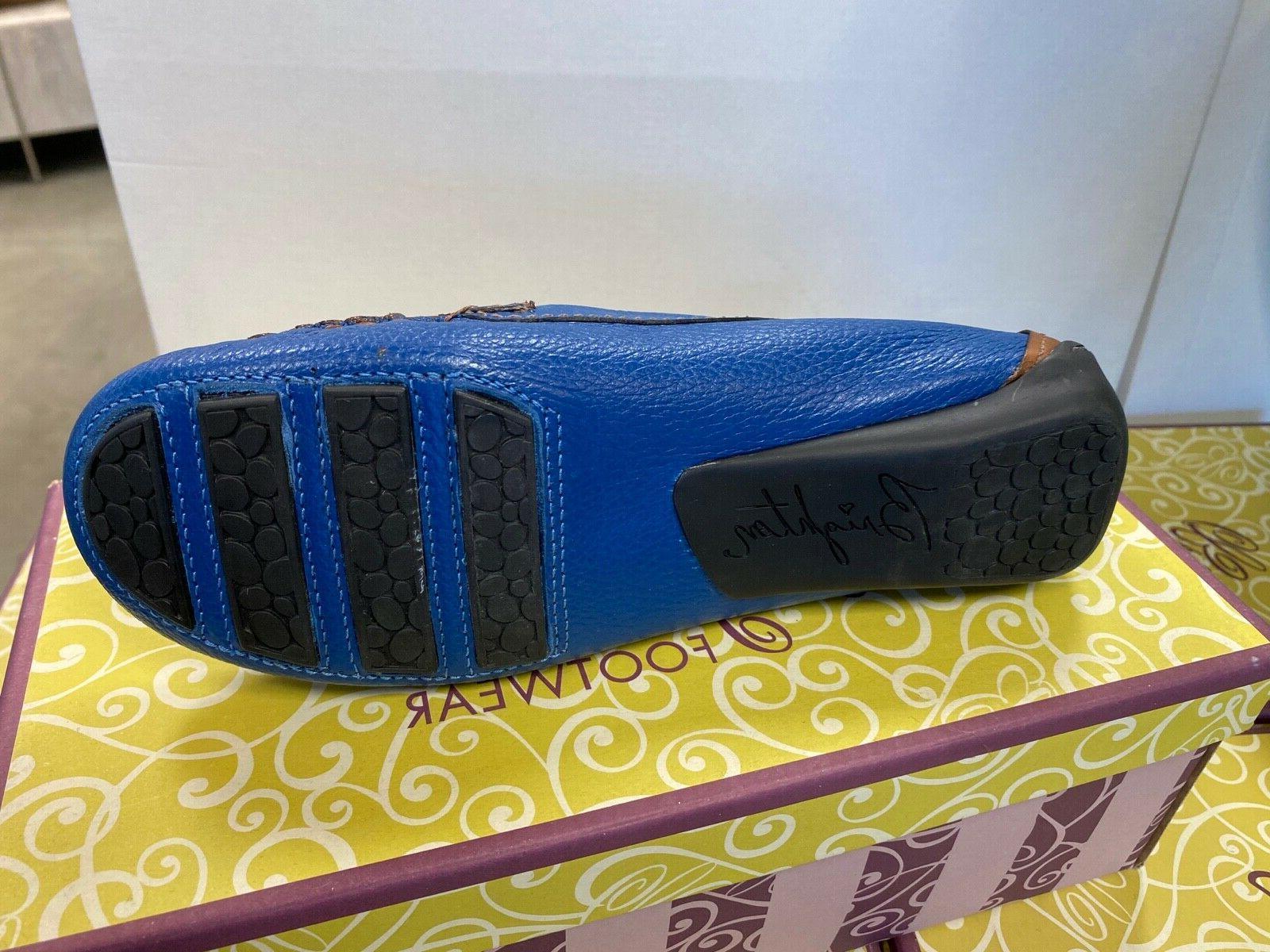 Brighton Loafers. Carribean Blue. 7.5M