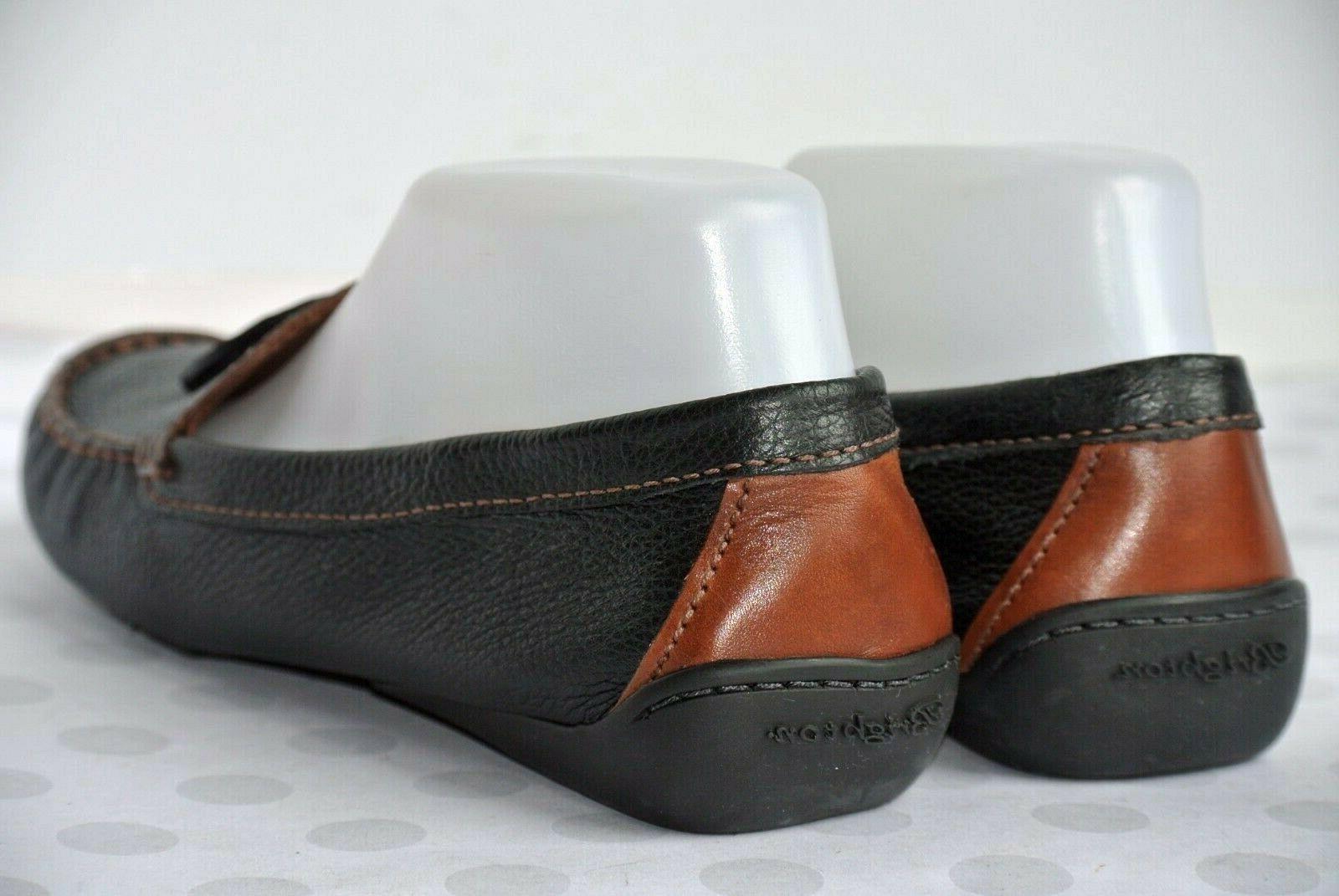 Brighton Womens 8.5M Black Leather