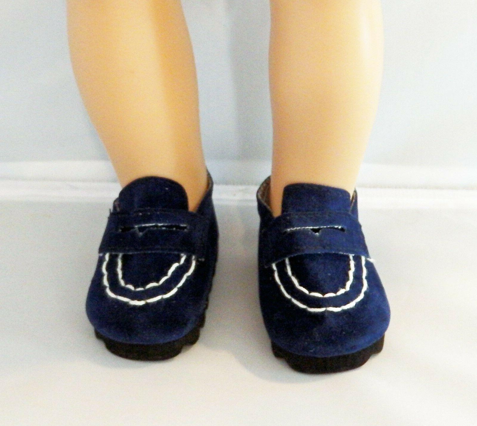 navy loafers fits 18 inch american girl