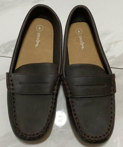 New & Samuel Loafers Brown Boys Size
