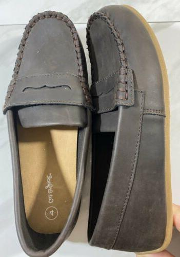 New Cat & Jack Samuel Loafers Brown Size 4