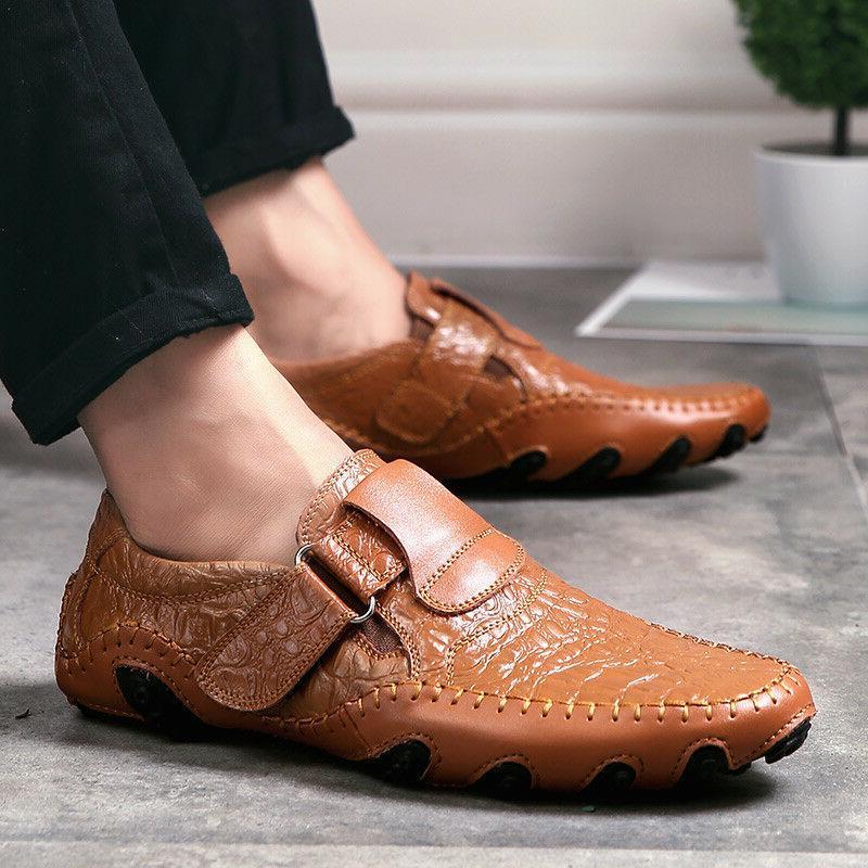 New Fashion Men's Driving Moccasins Slip