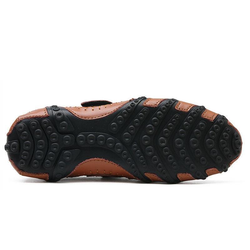 New Moccasins Shoes Leather Slip DressFlats