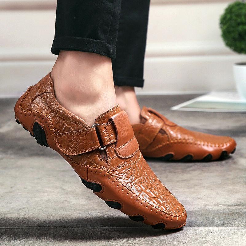 New Fashion Men's Moccasins Loafers Slip DressFlats