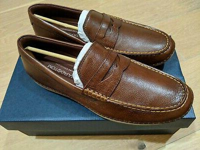 New Men's Cole Haan Motogrand Driving Shoes Penny Loafers Si